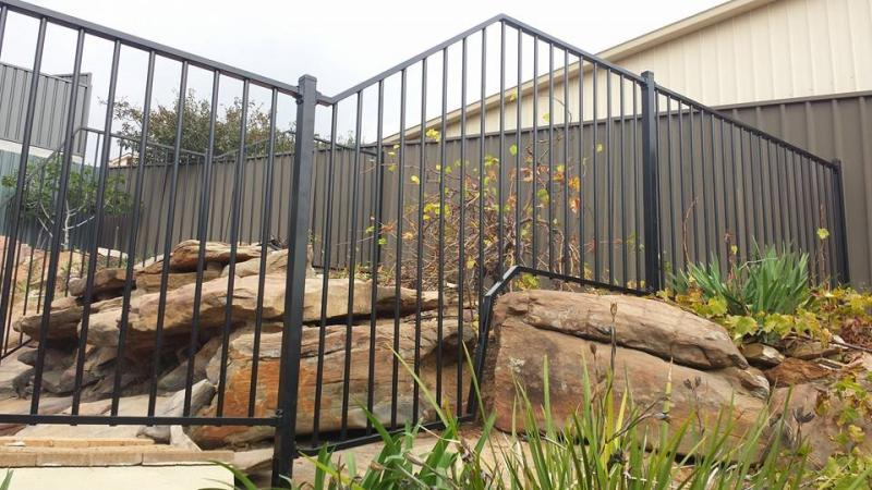 Custom Tubular Fence Panels